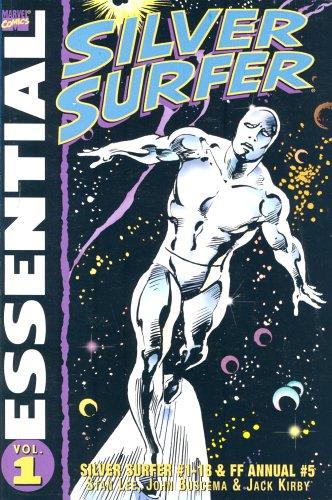 9781904159568: Essential Silver Surfer Vol.1: Silver Surfer #1-18 & Fantastic Four Annual #5 (v. 1)