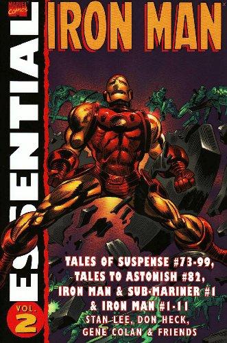 Essential Iron Man: Vol. 2 (v. 2): Lee, Stan