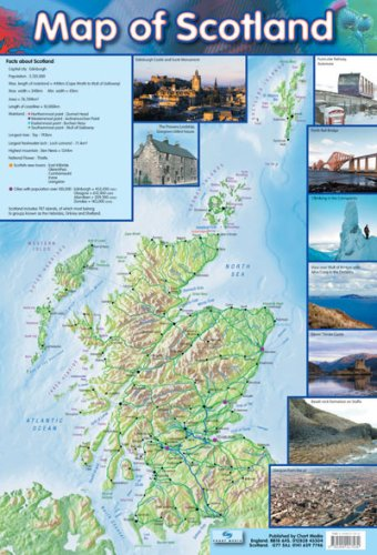 9781904217534: Map of Scotland