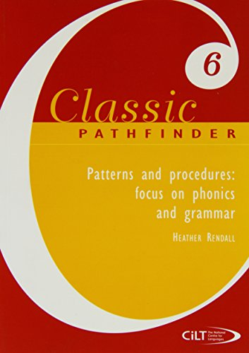 9781904243427: Patterns and Procedures (Classic Pathfinder)