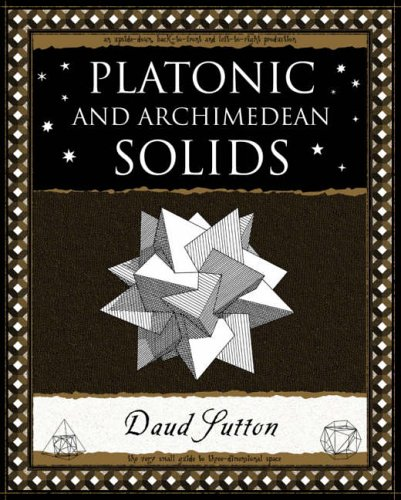 9781904263395: Platonic and Archimedean Solids (Wooden Books Gift Book)