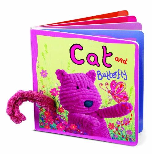 Jellycat Board Books, Cat & Butterfly: Jellycat