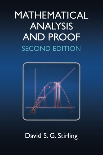 9781904275404: Mathematical Analysis and Proof, Second Edition