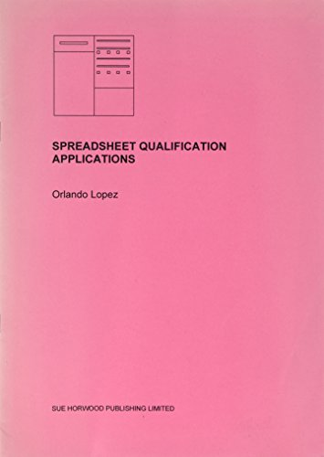 9781904282075: Spreadsheet Qualification Applications: Computer Systems Validation