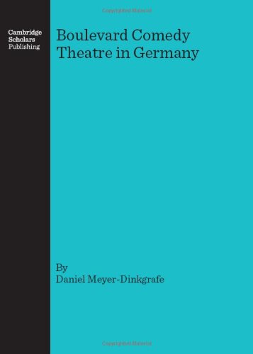 Boulevard Comedy Theatre in Germany (Hardcover)
