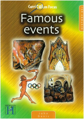 9781904307303: Curriculum Focus - Famous Events KS1