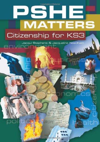 9781904307488: PSHE Matters: Citizenship KS3