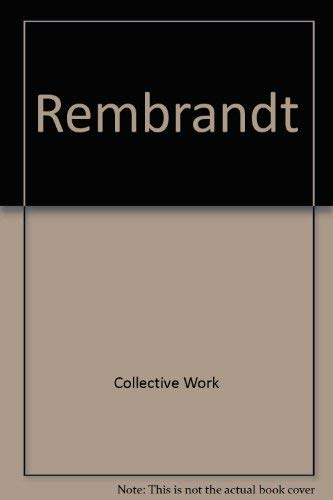 9781904310044: Rembrandt: A Journey of the Mind