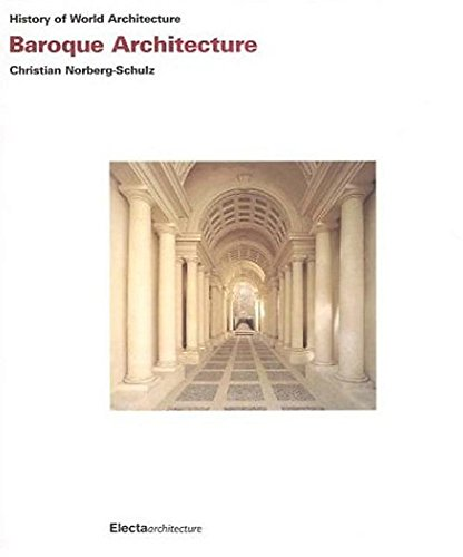 9781904313106: Baroque Architecture (History of World Architecture)