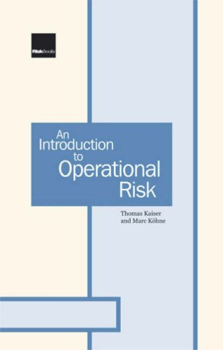 9781904339519: An Introduction to Operational Risk: A Practitioner Guide