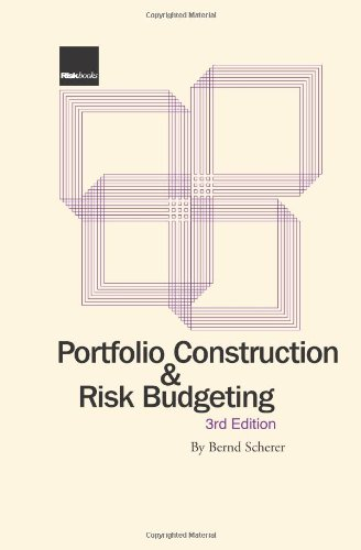 9781904339694: Portfolio Construction and Risk Budgeting