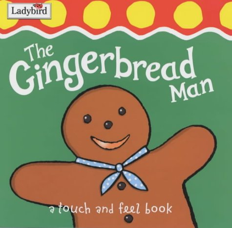 9781904351436: First fairytale tactile board book: the gingerbread man