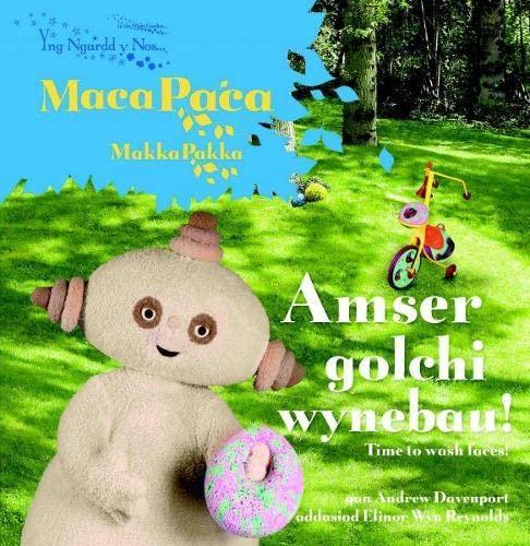 9781904357841: Yng Ngardd y Nos: Amser Golchi Wynebau! (Welsh Edition)