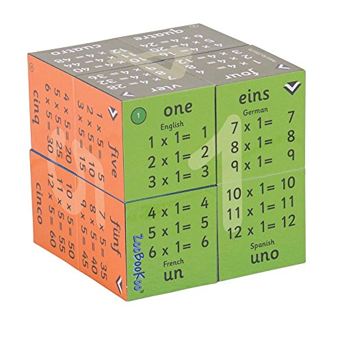 9781904359081: Multiplication Tables Cube (6 - 11 years): Self-test by Hiding Answers with Finger