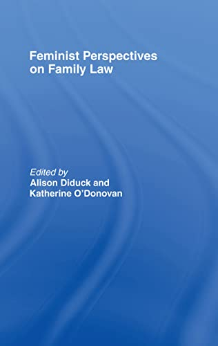 9781904385424: Feminist Perspectives on Family Law