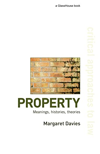 9781904385844: Property: Meanings, Histories, Theories (Critical Approaches to Law)