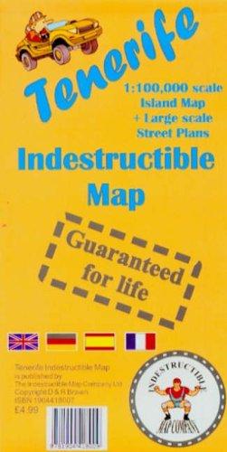 9781904418009: Tenerife Indestructible Map