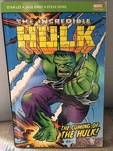 9781904419396: Incredible Hulk: The Coming of the Hulk! (Incredible Hulk)