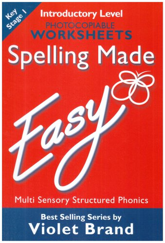 Spelling Made Easy: Introductory Level Photocopiable Worksheets: Brand, Violet
