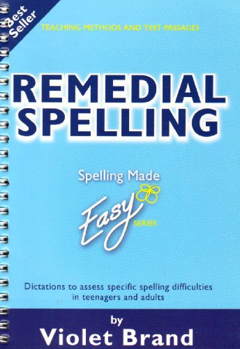 Remedial Spelling (Spelling Made Easy) (Spiral-bound)