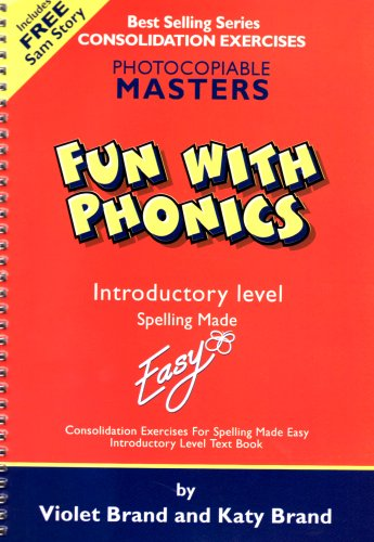 9781904421146: Fun with Phonics: Worksheets Introductory level (Spelling Made Easy)