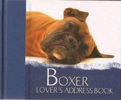 9781904439578: The Boxer Lover's Address Book