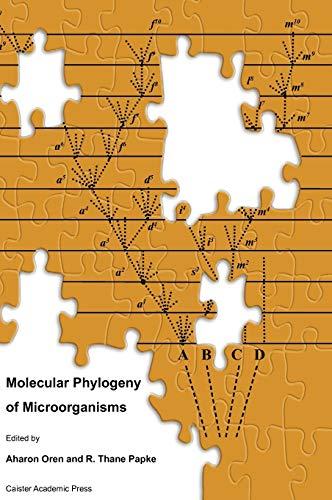 Molecular Phylogeny of Microorganisms (Hardback)