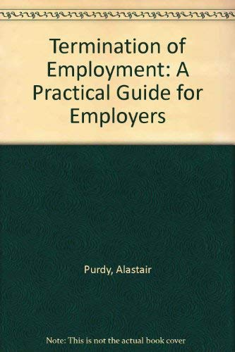 9781904480464: Termination of Employment: A Practical Guide for Employers