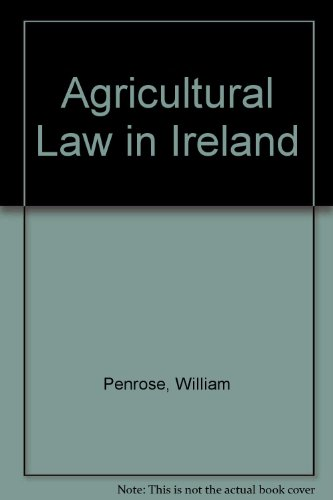 9781904480495: Agricultural Law in Ireland