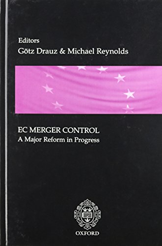 9781904501077: EC Merger Control: A Major Reform in Progress