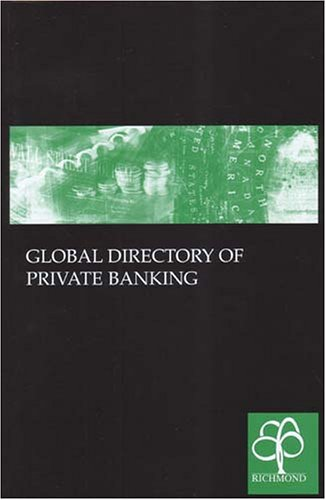 9781904501121: Global Directory of Private Banking