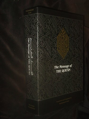 9781904510000: The Message of the Qur'an: The Full Account of the Revealed Arabic Text Accompanied by Parallel Transliteration