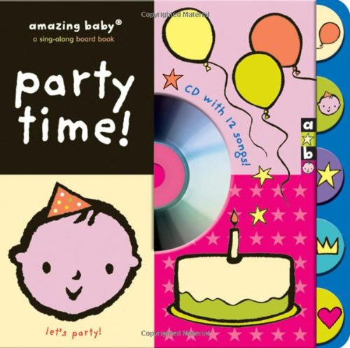 Amazing Baby Party Time CD Book