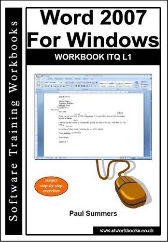 9781904526544: Word 2007 for Windows Workbook ITQ L1