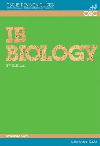 9781904534631: IB Biology Standard Level (OSC IB Revision Guides for the International Baccalaureate Diploma)