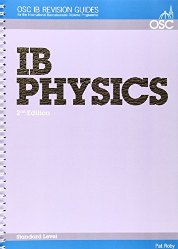 9781904534839: IB Physics Standard Level (OSC IB Revision Guides for the International Baccalaureate Diploma)
