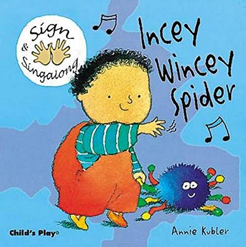 9781904550037: Incey Wincey Spider: BSL (British Sign Language) (Sign & Sing-along)