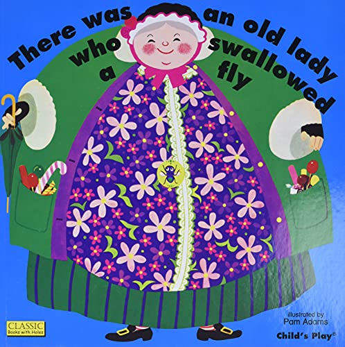 9781904550624: There Was an Old Lady Who Swallowed a Fly (Classic Books with Holes)