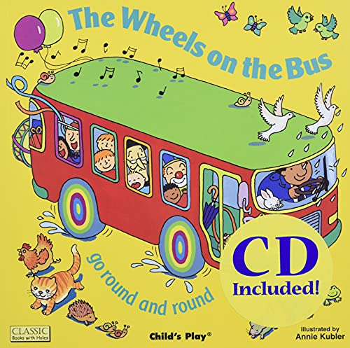 9781904550662: The Wheels on the Bus: Go Round and Round (Classic Books With Holes)
