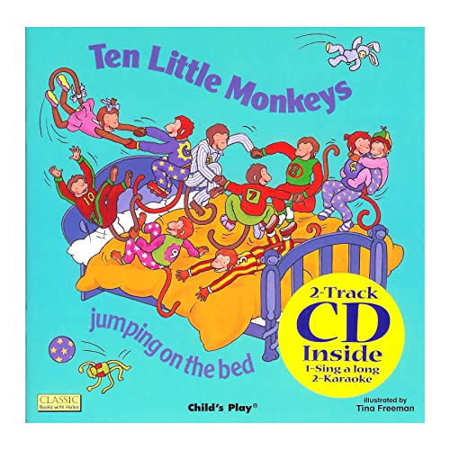 9781904550679: Ten Little Monkeys Jumping on the Bed (Classic Books with Holes)