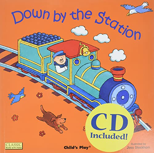 9781904550686: Down by the Station (Classic Books With Holes)