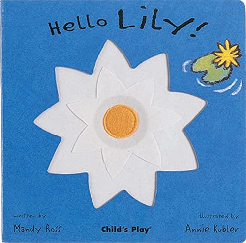 Hello Lily (Little Petals) [Board book] Mandy