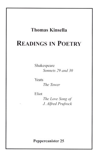 9781904556473: Readings in Poetry (Peppercanister)