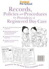 Records, Policies and Procedures for Providers of: Lin Marsh