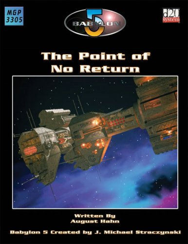 9781904577300: Babylon 5: The Point Of No Return (Babylon 5 (Mongoose Publishing))