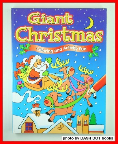 9781904586487: Giant Christmas Coloring and Activity Fun