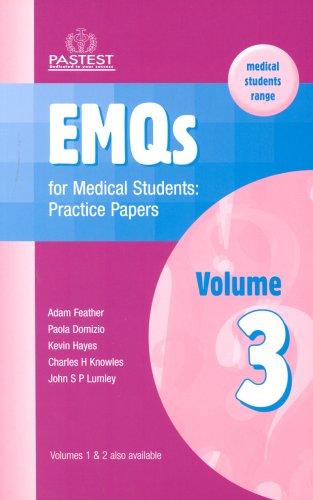 9781904627074: EMQs for Medical Students: Practice Papers v. 3