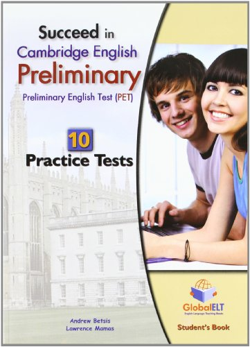 9781904663263: Succeed in Cambridge english: preliminary PET. 10 practice tests. Self study edition. Per le Scuole superiori. Con CD Audio formato MP3. Con espansione online [Lingua inglese]