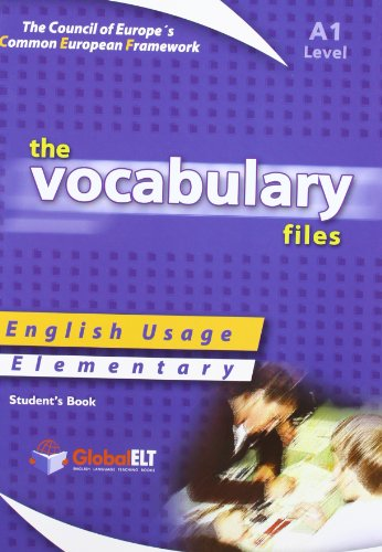 The Vocabulary Files - English Usage - Student's Book - Elementary A1 (Paperback): Lawrence ...