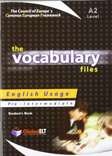 9781904663393: The Vocabulary Files - English Usage - Student's Book - Pre-Intermediate A2